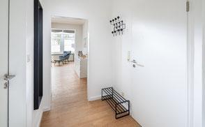 Strandloft 3 Norderney Wohnung 2 - Ansicht Flur und Eingangsbereich