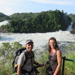Murchison Wasserfälle Uganda