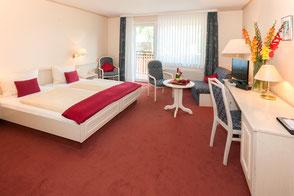 Doppelzimmer Hotel Ilmenautal Bad Bevensen