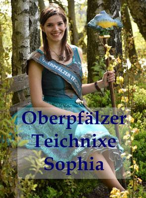 Oberpfälzer Teichnixe Sophia (Karpfenkönigin)