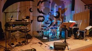 Hochzeitsband, Partyband Dasing - Bühne