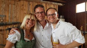 Hochzeitsband, Partyband Merching - Bianca, Dominik und Chris