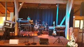 Hochzeitsband Eching - Bühne