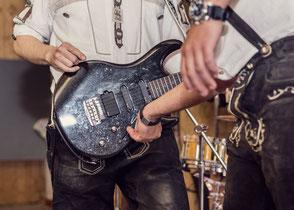 Hochzeitsband, Partyband Dasing - Solo auf der Gitarre