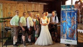 Hochzeitsband Rosenheim - Hochzeit in den Bergen