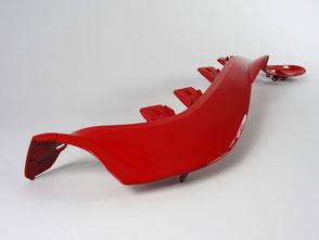 Rot hochglant lackiert Akzentleiste Supersportsitz Audi TT