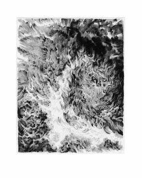 Matthias-Wyss-Kupferstich-Kaltnadel-Copper-Engraving-Drypoint-Cycle-2008–2009-Printing-Plate-20X25-Cm-N°17