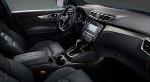 Nissan Qashqai Intérieur cuir Nappa
