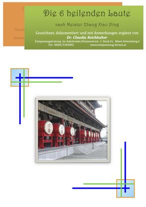 Lernunterlage für 6 heilende Töne Qi Gong
