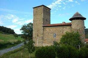 le chateau de Lespinasse saint Cyr de Valorges