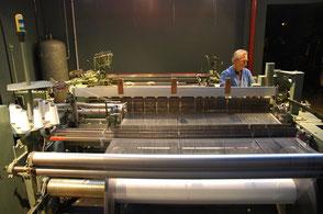 métier à tisser musée du tissage