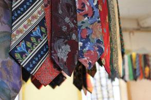 Les cravates au musée à Panissières
