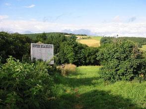 sentier botanique de la belette sainte agathe en donzy