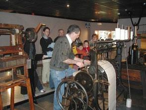 métier musée tissage Bussières