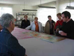 visite atelier Daniel Vial Rozier en Donzy