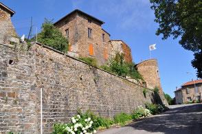 Néronde village médiéval