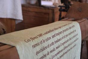 musée de la cravate en terre de tisseurs