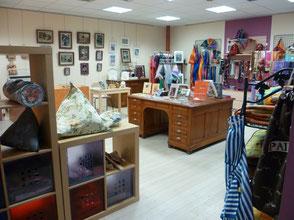 boutique du musée du tissage de Bussières