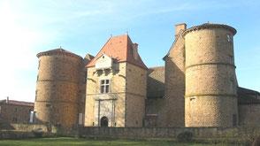 le chateau de Saint Marcel de Félines