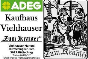 Kaufhaus Viehhauser - Zum Kramer Adeg in Hüttschlag