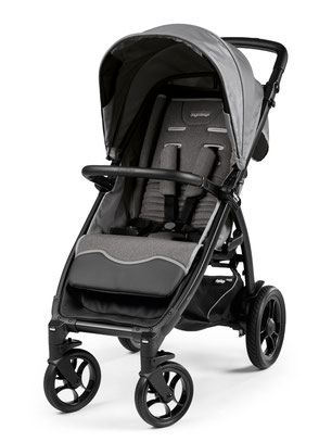 booklet 50s allround buggy  dessin vibes grey