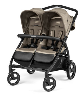 kinderwagen zwillingswagen book for two cream