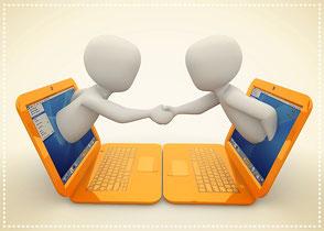 bureau commercial relation professionnels artisans dirigeants chefs d'entreprise aide