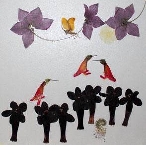 Kunst aus Blüten, floralart