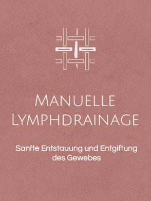 Manuelle Lymphdrainage zur sanften Entstauung und Entgiftung des Gewebes