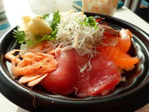 駿河湾沼津サービスエリア 海鮮丼 菜ちゃんのページ