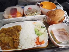 エバー航空 台北 松山空港 機内食 菜ちゃんのページ