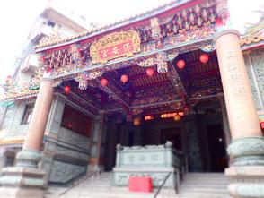 途中にあったお寺