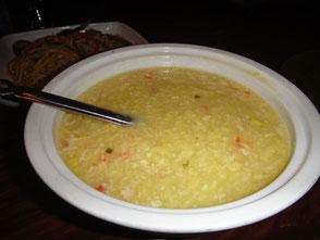 中華風コーンスープ:かにの出汁がきいてます