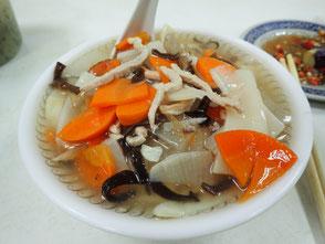 台北旅行記 B級グルメ 周記手工家常面 美味しいうどん 菜ちゃんのページ