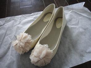 お花のついた靴49RM