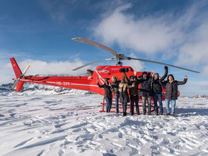 Helikopterflug Zentralschweiz, HB-ZPF, AS 350 B2 Ecureuil, Firmenausflug, Alpenrundflug mit Gletscherlandung, Helikopterflug,  Gletscherflug, Gletscherapéro, Petersgrat