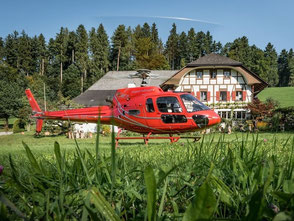 Helikopterflug Zentralschweiz, Burezvieriflug, Helikopterrundflug, AS 350 B2 Ecureuil, HB-ZPF