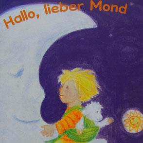 Bilderbuch Reise mit dem Mond Kind Schäfchen