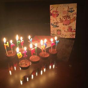 Unterwegs Geburtstag feiern