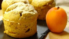 Aprikosen Chia Kuchen im Weckglas gebacken