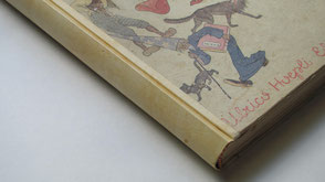 Repair book spine Conti Borbone