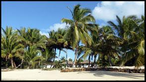 La villa Mahafaly et sa plage côte sud est Sainte-Marie Madagascar