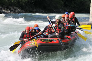 Rafting, Rafting für Firmen, Rafting in Düsseldorf, teamevent.de, Teamevent, Firmenevent, Betriebsausflug, Schnurstracks, Teambuilding, Raftingtour