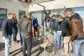 Kugelbahn kreativ, Kugelbahn kreativ für Firmen, teamevent.de, Teamevent, Firmenevent, Betriebsausflug, Schnurstracks, Teambuilding, Bauprojekt