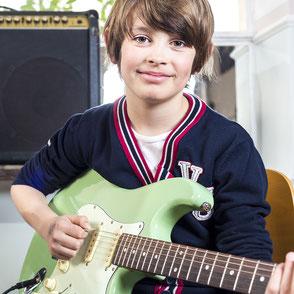 E-Gitarrenunterricht Musikschule Lüneburg