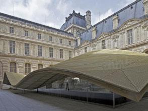 Musée du Louvre - La cour Visconti Paris
