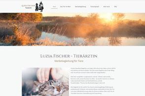 Luzia Fischer, Tierärztin und Sterbebegleitung für Tiere im Aargau