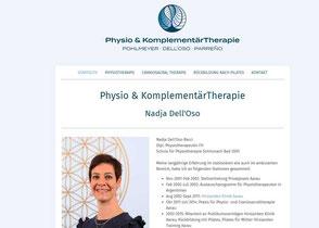 Praxis für Physiotherapie Nadja Dell'Oso, Aarau