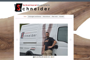 Schreinerei Auenstein, Francis Schneider, Schreinerei & Kunst