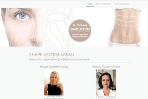 Shape System, Institut für apparative und medizinische Kosmetik, Aarau